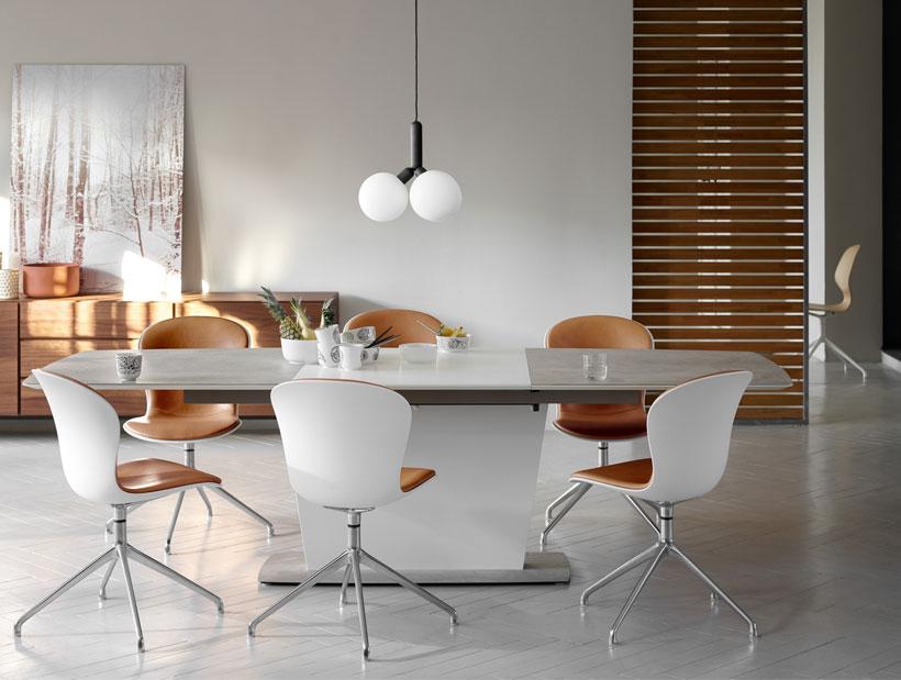 Comedor con mesa de comedor Milano