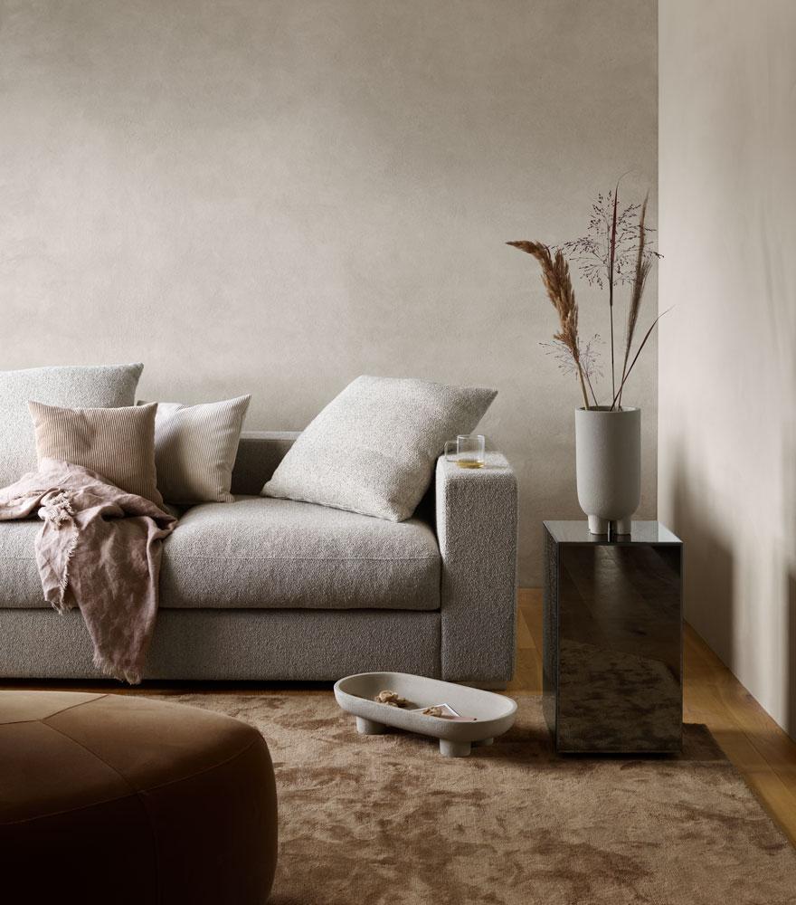 Cenova sofa and bermuda footstole