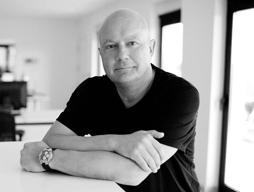 Morten Georgersen black and white photo