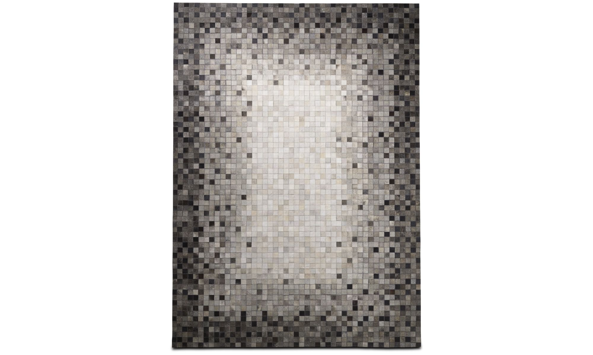 Random rug, cowhide