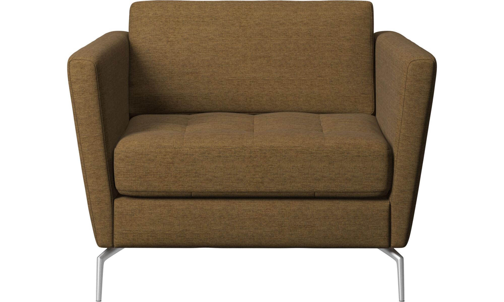 Osaka Sessel, getuftete Sitzfläche