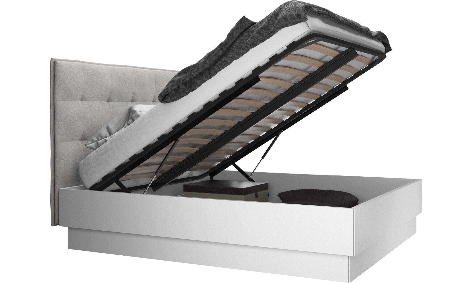 Lugano Bett mit Lattenrost und Staufach unter der hochklappbaren Liegefläche ( Neu & verpackt)