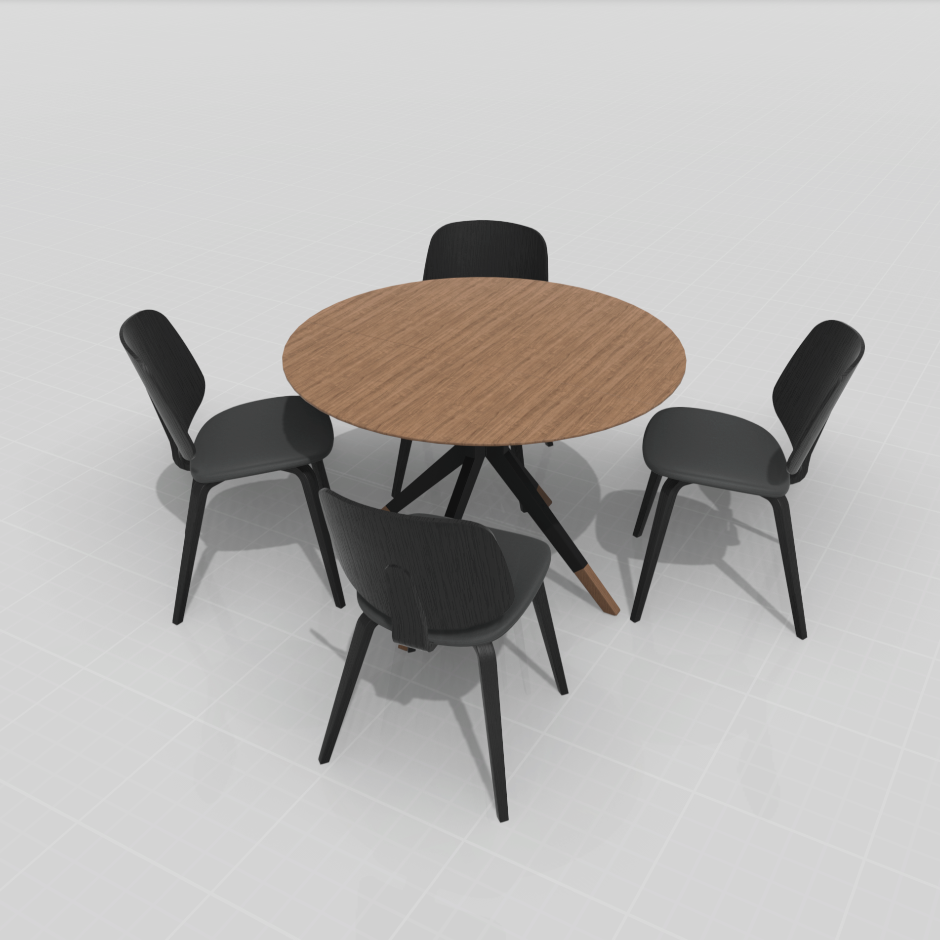 4x Aarhus Stühle + Billund Tisch im Set - Neu und verpackt - Sofort verfügbar