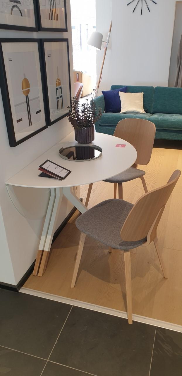 Billund Esstisch und 2x Aarhus Stühle im Paket