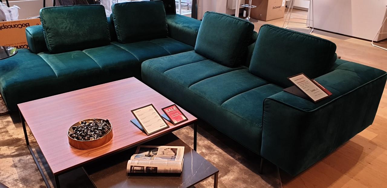 Amsterdam Ecksofa mit Loungemodul