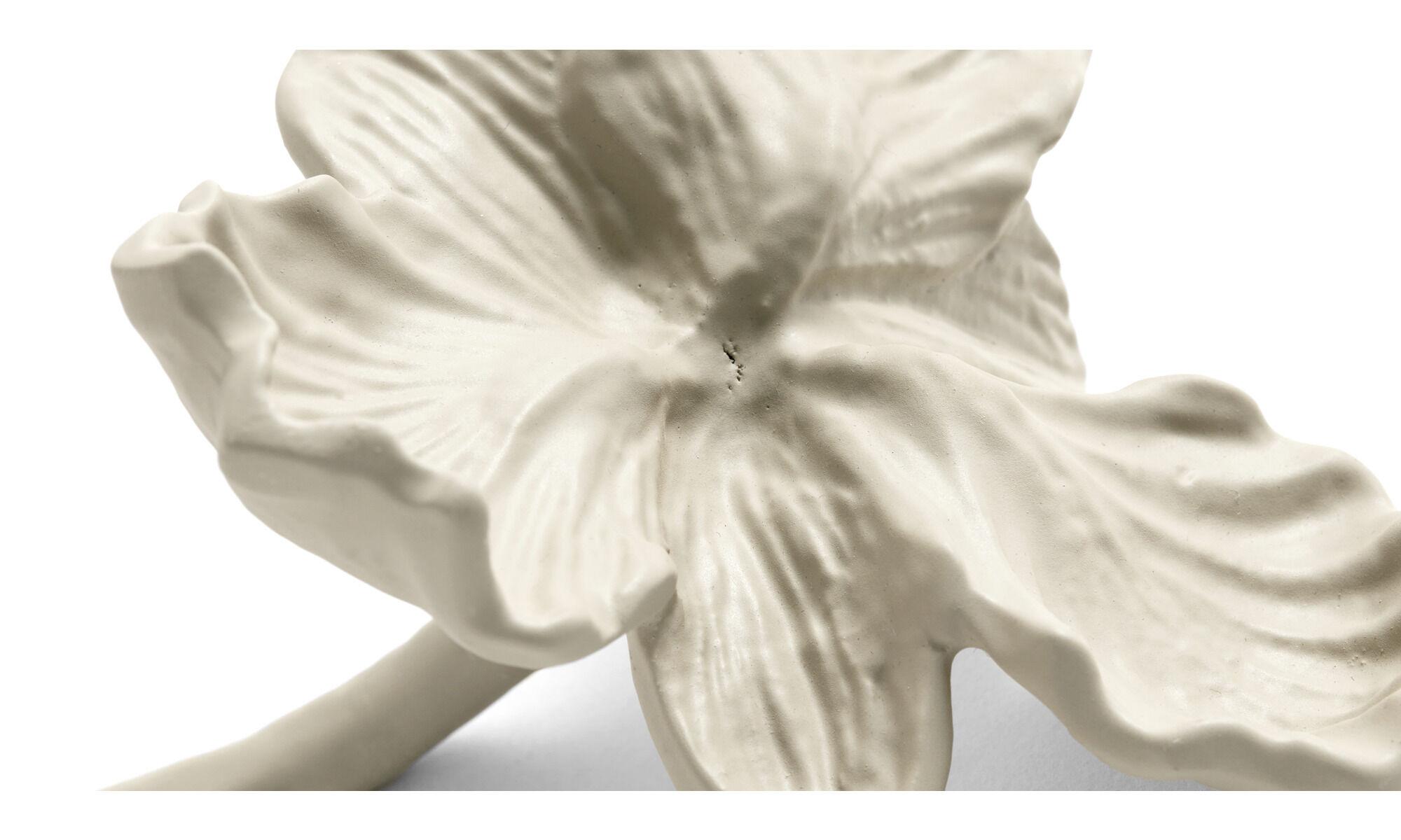 Orchid 2er Set - Blumen Metall Skulpturen