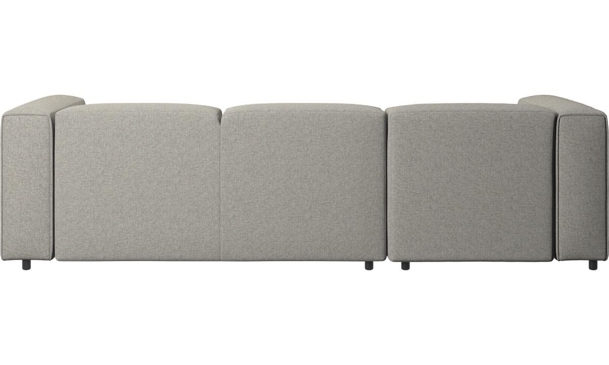 Carmo verstellbares Sofa mit Ruhemodul