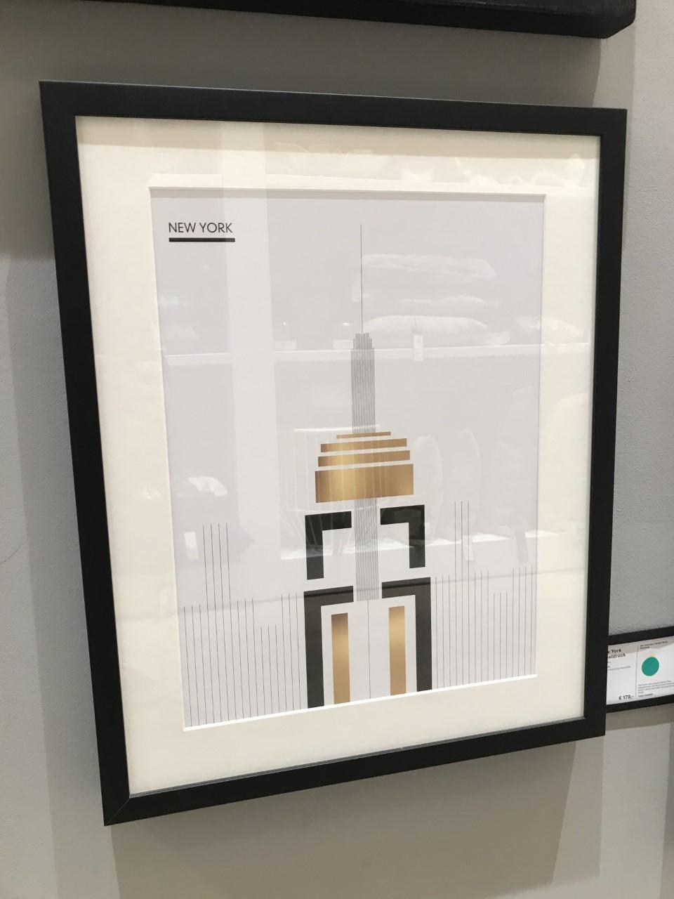 New York Kunstdruck
