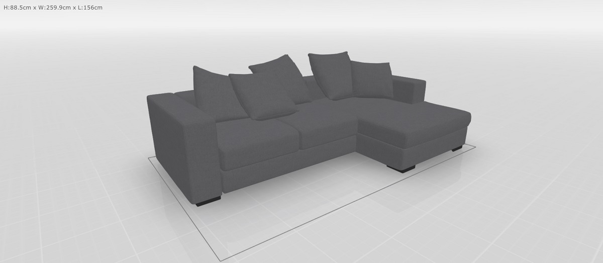Cenova Sofa mit Ruheelement