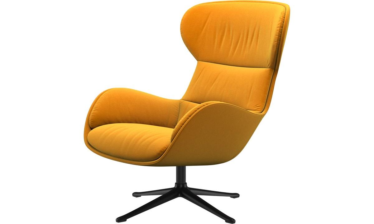 Reno Sessel mit Hocker