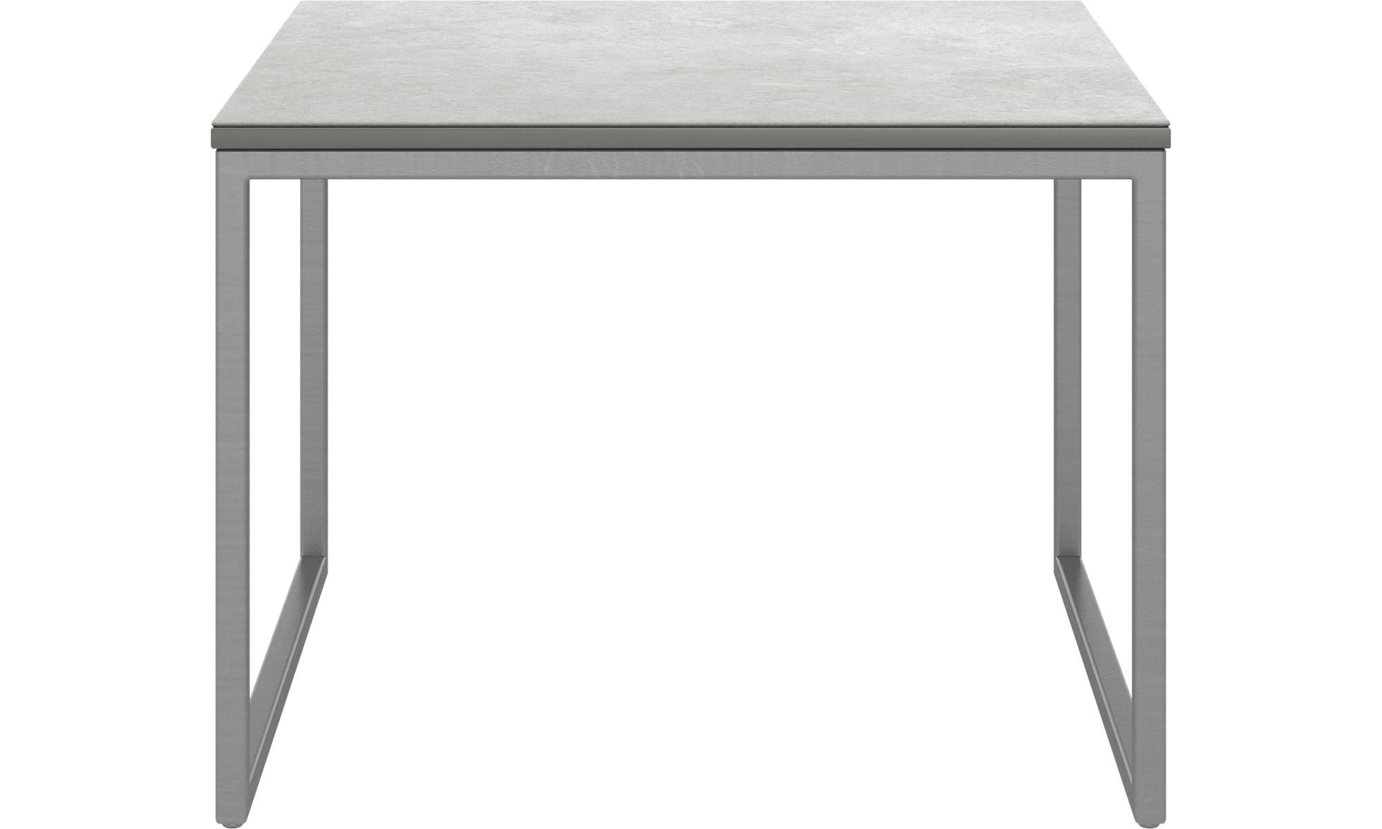 Lugo ceramic low side table