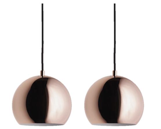 2x Ball Pendants