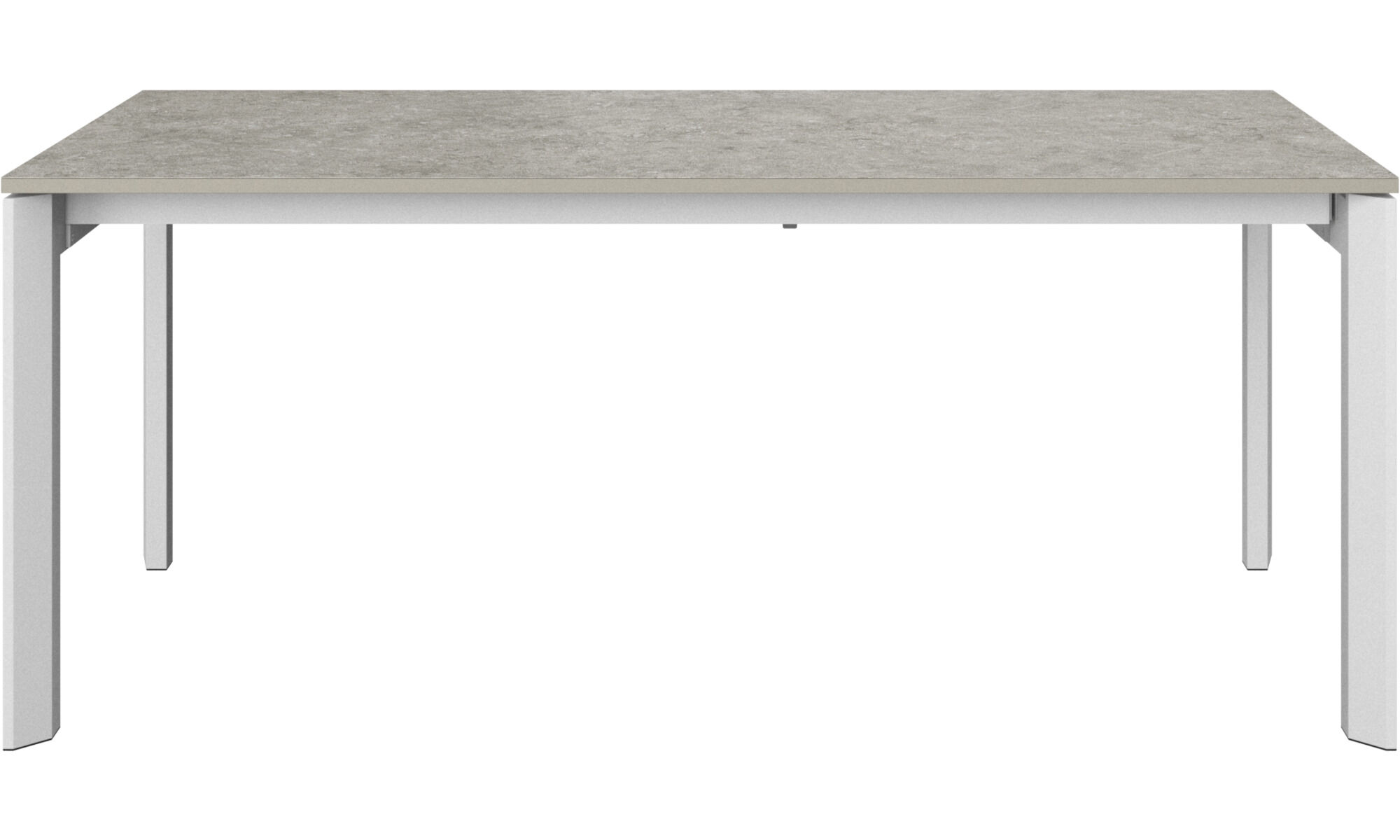 Lyon table with supplementary tabletop