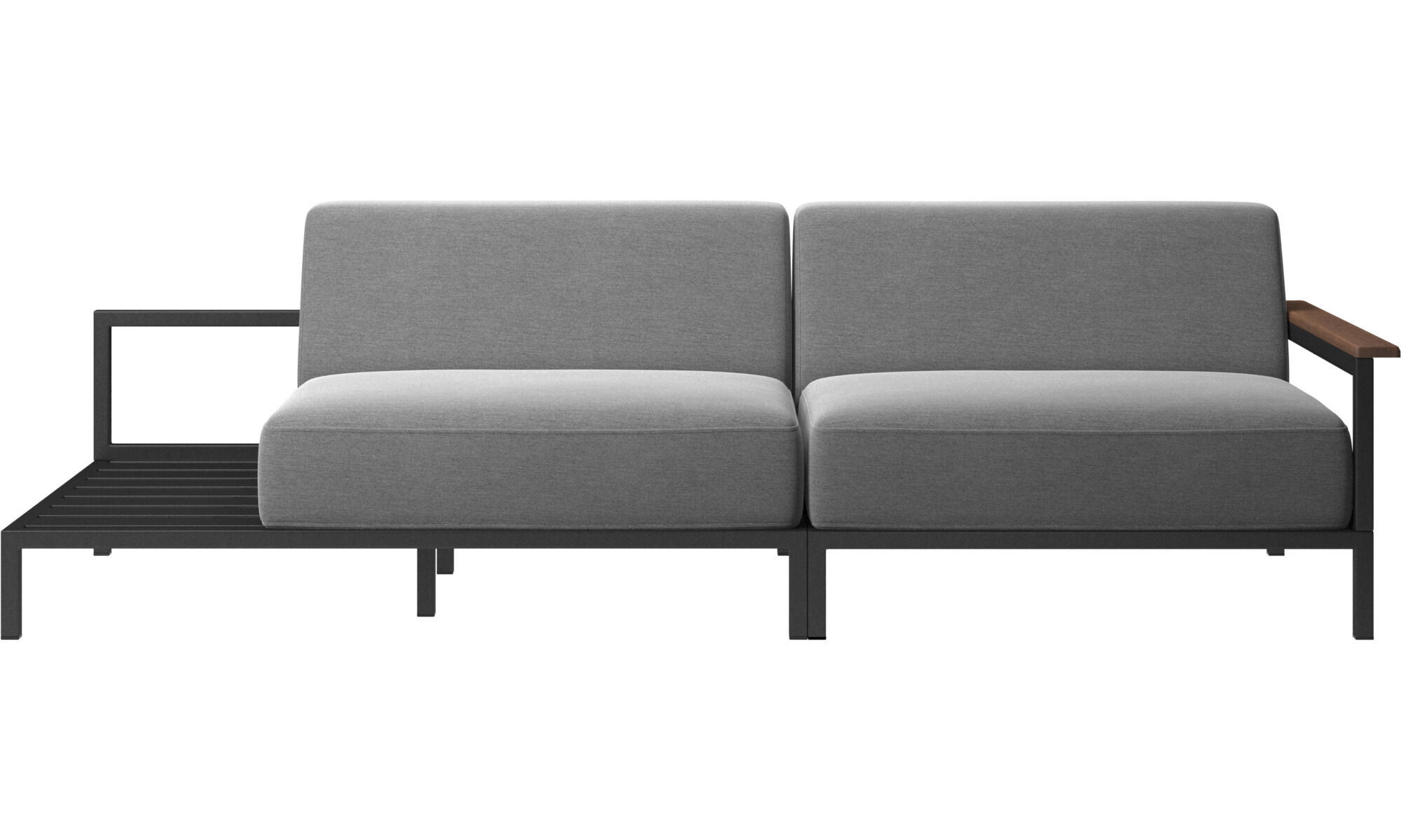 Rome outdoor sofa with x2 cushions