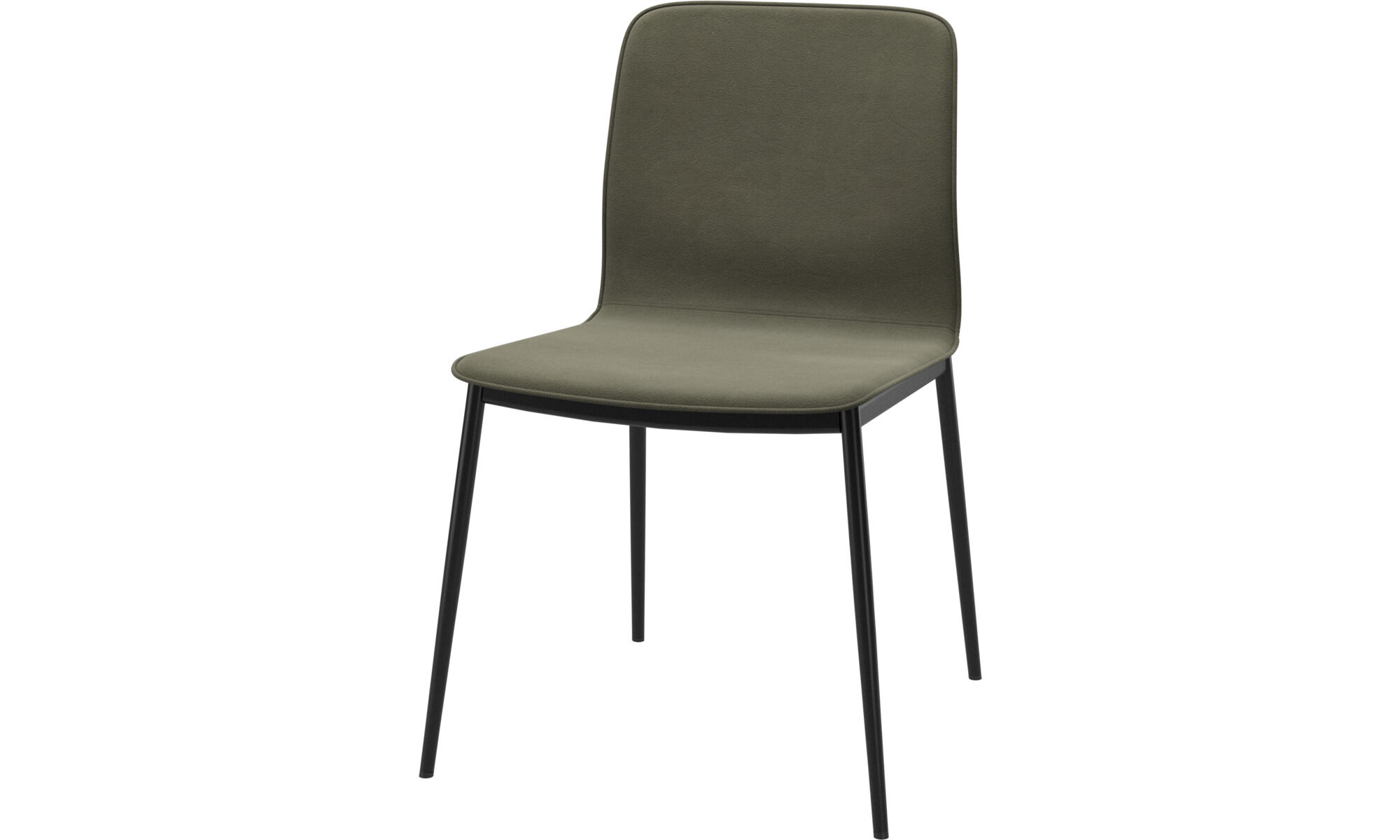 Newport Chair - Olive Green York Leather