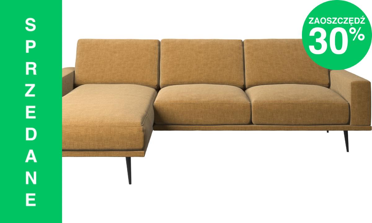Sofa Carlton z szezlongiem
