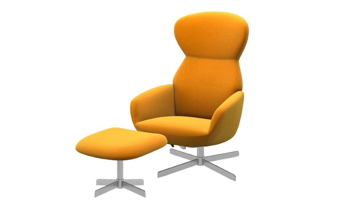 Fotel Athena w komplecie z podnóżkiem -35%