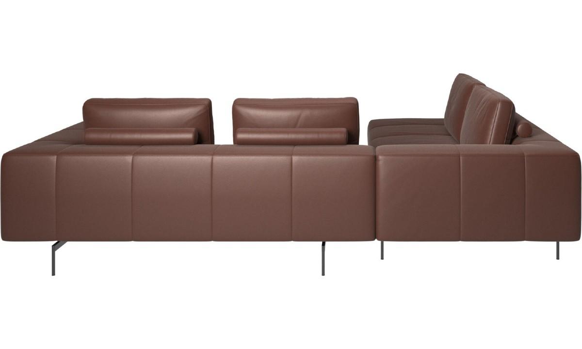 Sofa narożna Amsterdam z modułem wypoczynkowym -30%