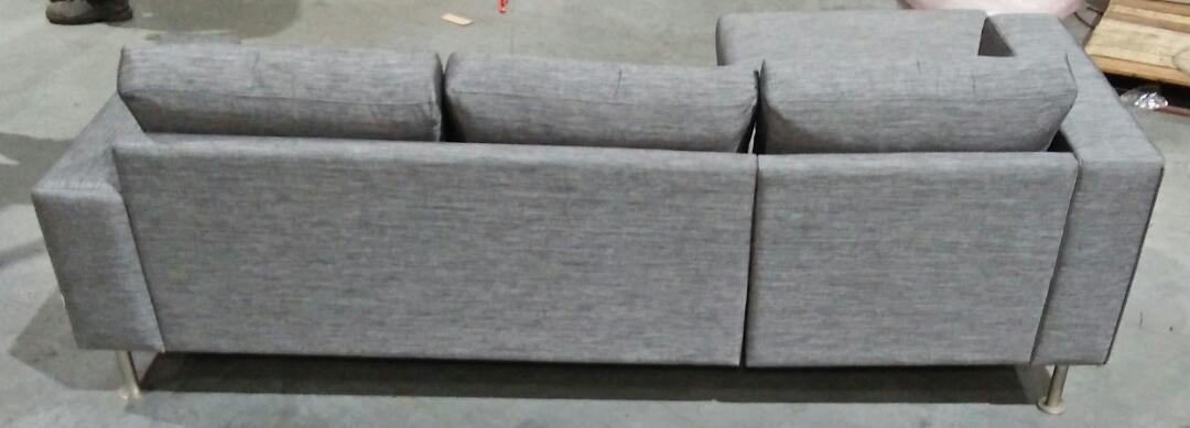 Indivi Sofa - Dark Grey Sazza