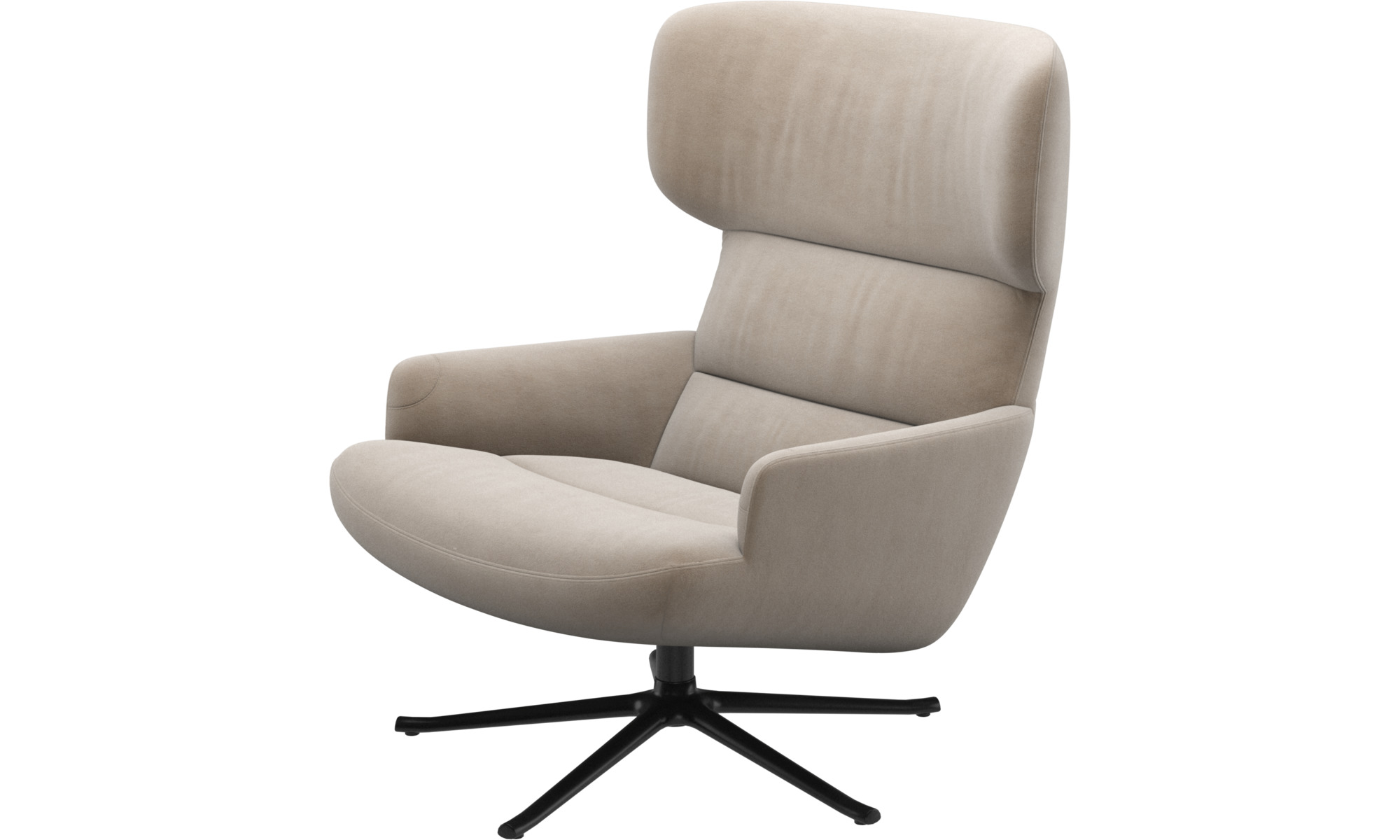 Trento chair with swivel function