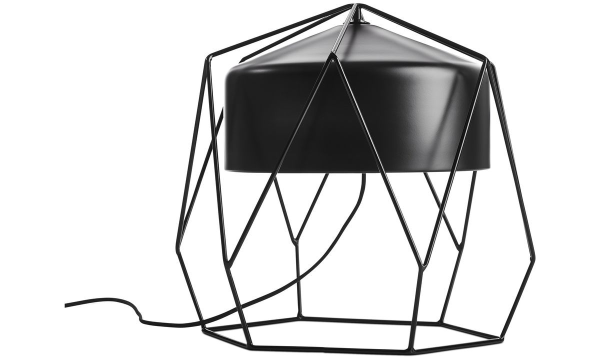 HEXAGON TABLE LAMP - 8 UNITS AVAILABLE- BRAND NEW