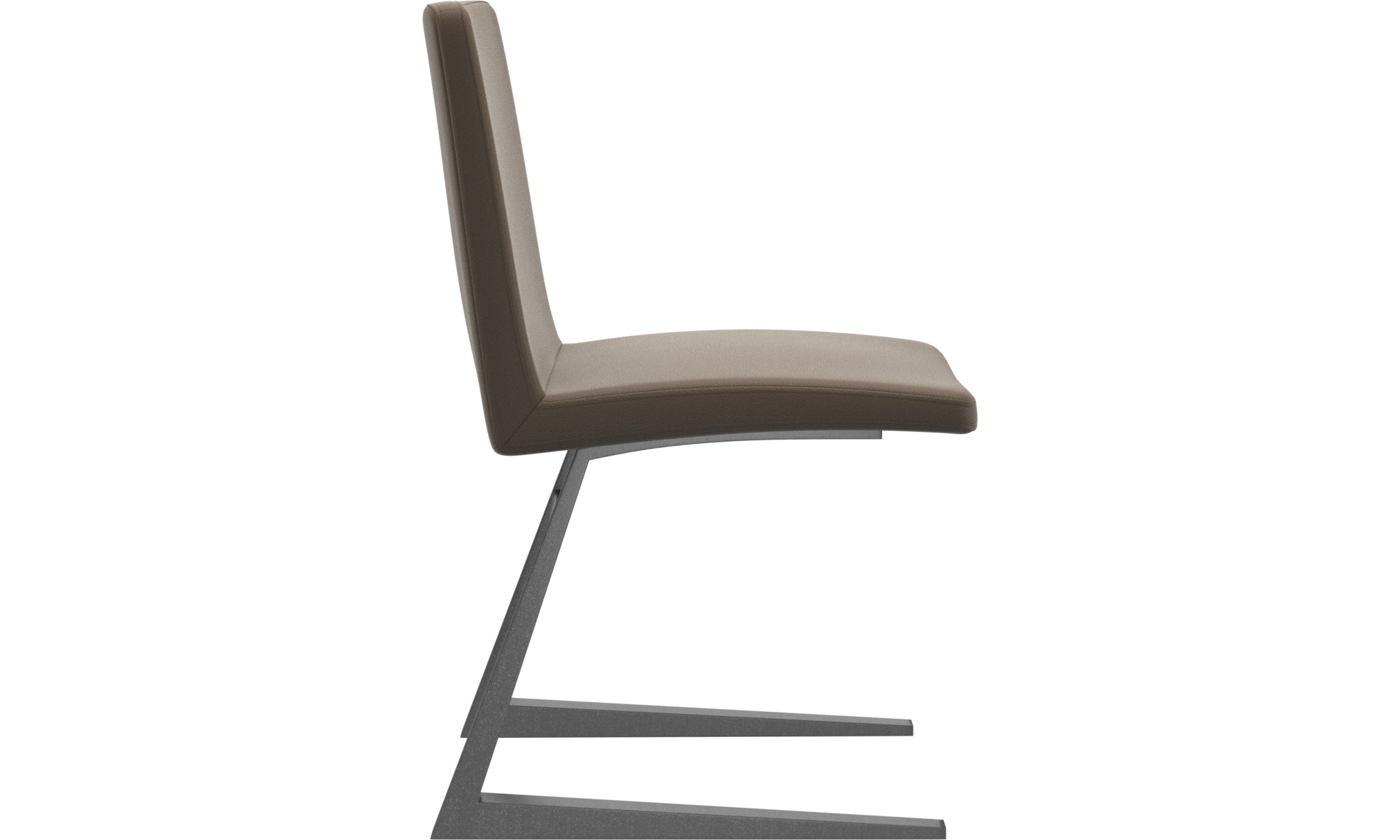 MARIPOSA DELUXE CHAIR - Stone Estoril leather 0953 - SET OF 4