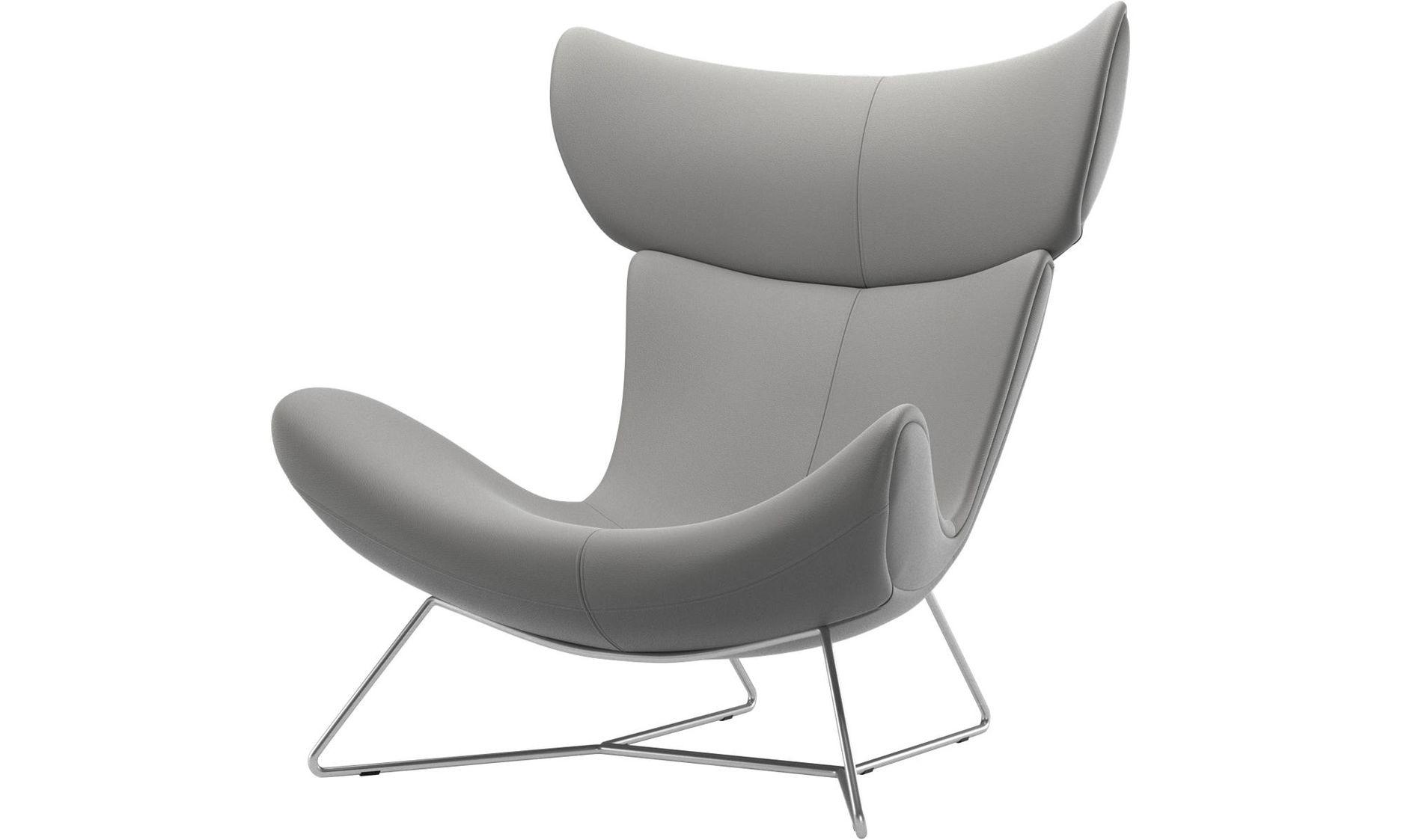 Imola Chair + footstool