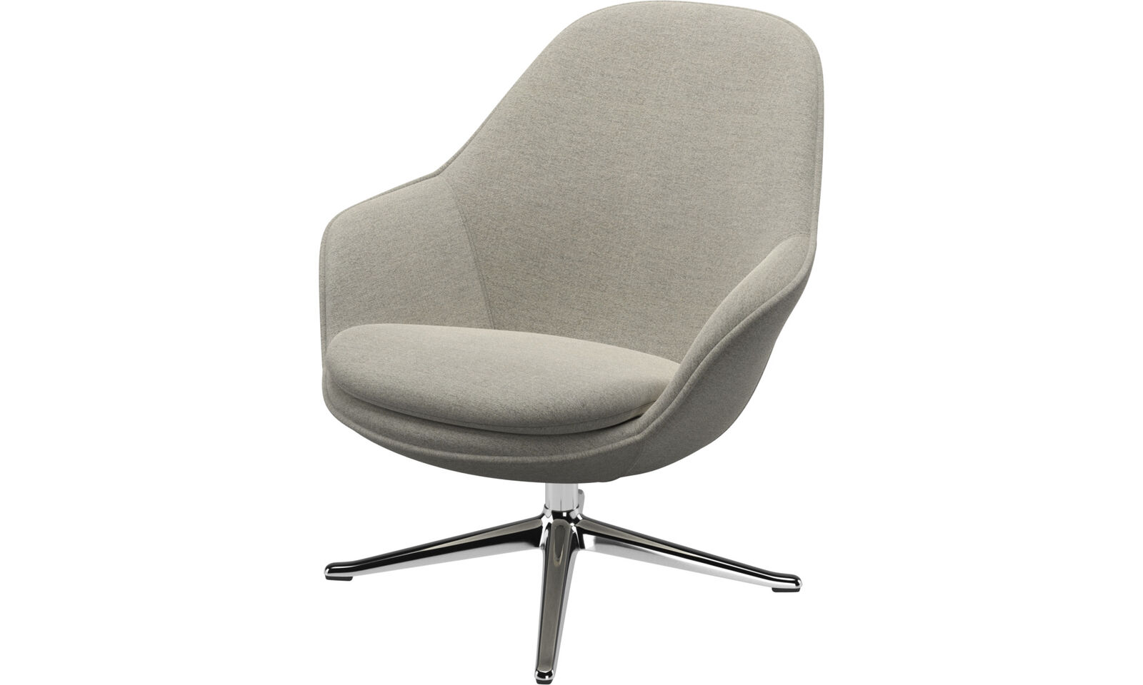 Adelaide living chair with footstool