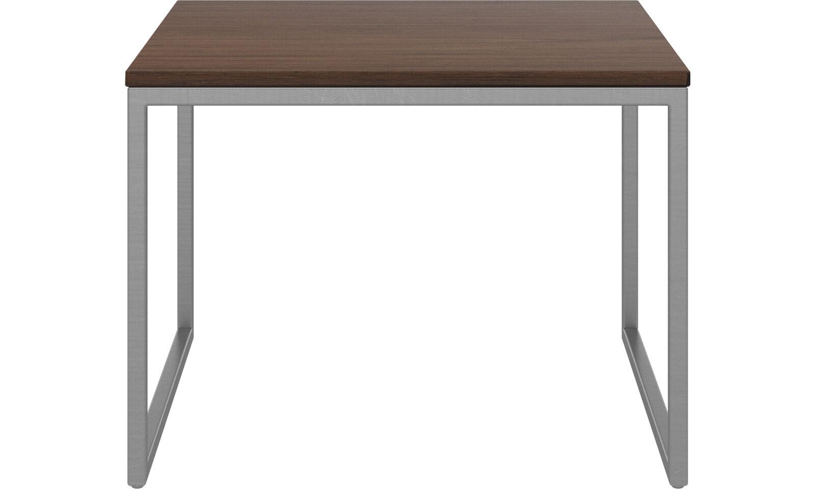 Lugo side table walnut-BRAND NEW