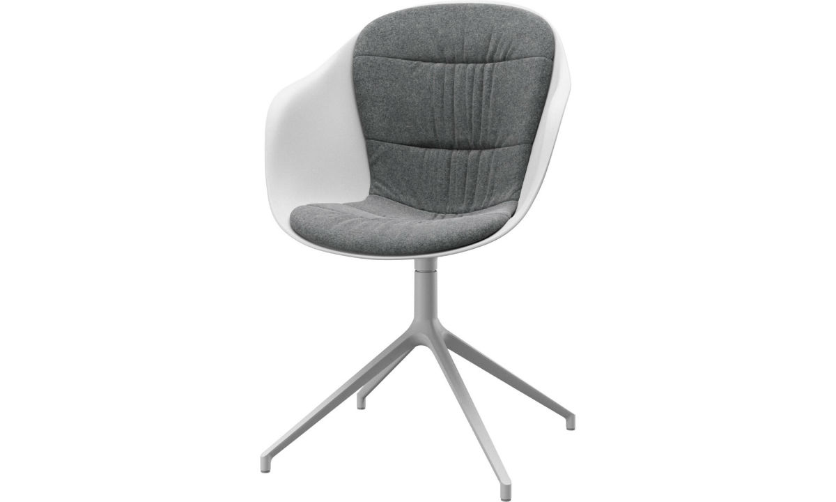 Adelaide chair with swivel function - Beige Felt