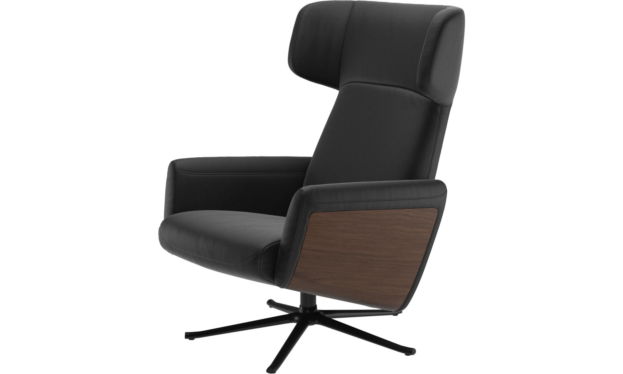 Lucca Wing Recliner With Swivel Function. Available October.